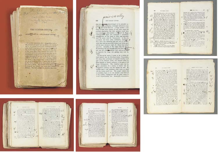 scarlet letter' manuscript brought record price of $545100