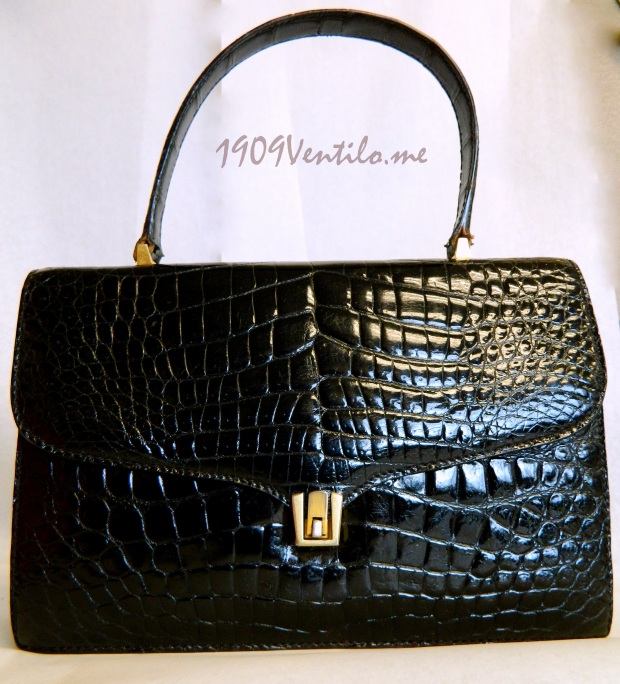 Black Alligator made in France purchased on OnlineAuction.com