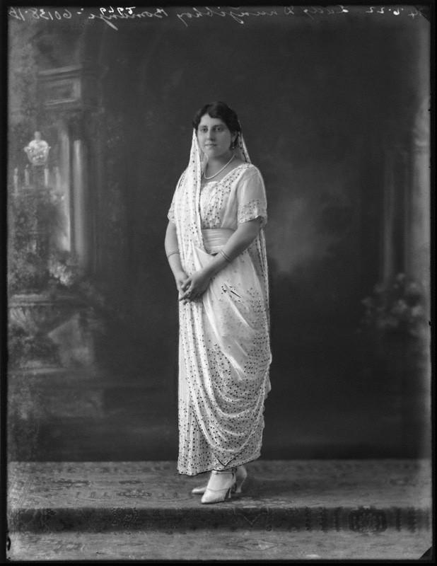 NPG x121710; Lady Dhunjibhoy Bomanji by Bassano