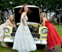Vintage Prom photo shoot Juliette Fain Amber Jayden Travis