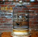 1909Ventilo Automaton Birds in a cage!