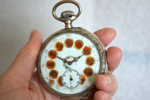 Yard sale find 1800's pocket watch