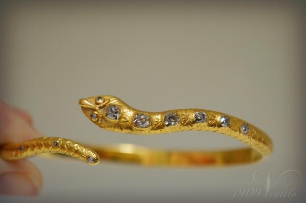 snake.bracelet1800s